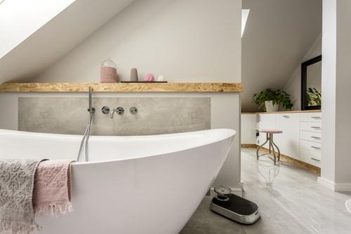 De badkamer en suite - Nettobed