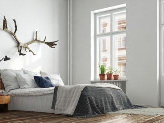 scandinavische slaapkamer inrichting