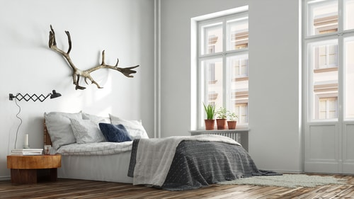 Scandinavische slaapkamer inrichting - Nettobed