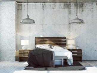 Bed van betonplex maken