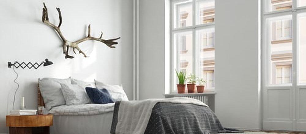 Hoe kun een slaapkamer opvrolijken met accessoires